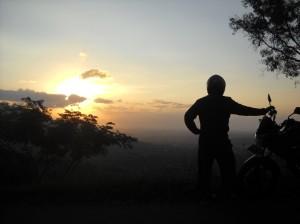 biker to the sun