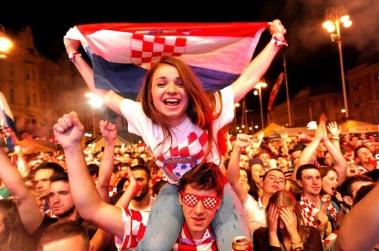 crazy croatia world cup girl fans 2014-f03081