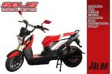 Selis Jalak: Sepeda Motor Listrik Ala Honda Zoomer yangkeren