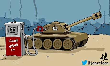 Saudi cartoonist Jabertoon's take on Gaza conflict