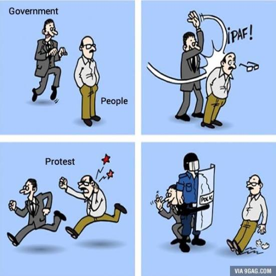 GOVERMENT VS PEOPLE