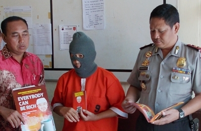 Bowo Jenggot ditangkap polisi