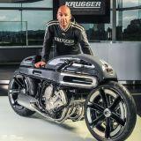 BMW K1600 NURB by Fred Krugger, Cafe Racer FuturistikCiamik
