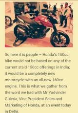Honda New Megapro Memakai Mesin 160cc?