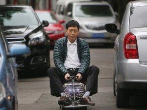 Xu ditengah kemacetan kota