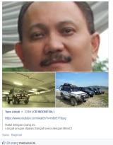 Kenalin nih Andi Wenas. Hati-hati buat bikers di Jakarta, Klo Ngawur Ketemu Mobilnya Anda bisa dilindeshidup-hidup