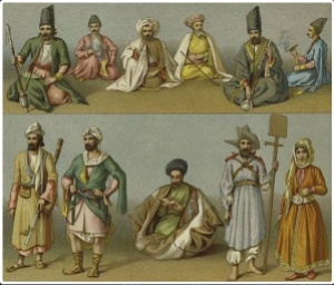 ancient Arab clothes at 4c