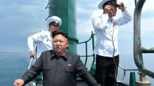 kim jong un and navy