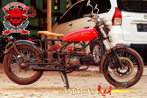 full simplicity red
